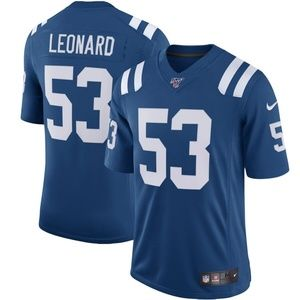 Indianapolis Colts 53 Darius Leonard 100 Jersey